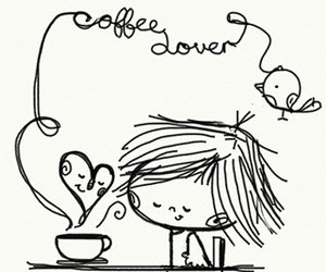 coffee, lover, and cute image