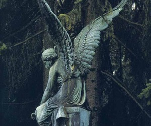 angel and statue image