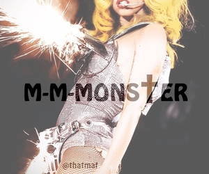 Lady gaga and monster image