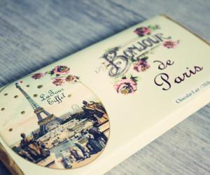 paris, chocolate, and vintage image