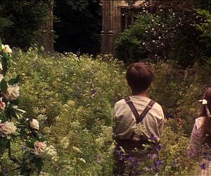 The Secret Garden, garden, and child image