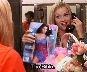 legally blonde, cosmopolitan, and bible image