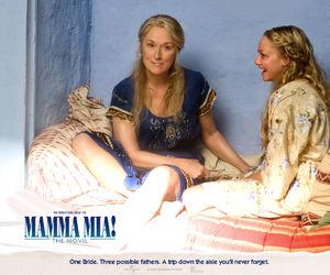 amanda seyfried, mamma mia, and meryl streep image