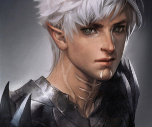 boy, art, and elf image