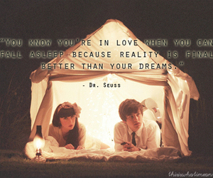 dreams, quote, and dr.seuss image