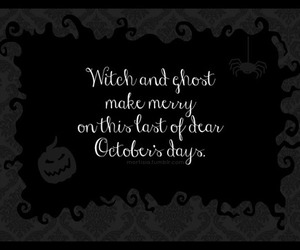 black and white, ghost, and Halloween image