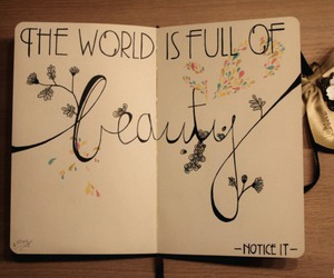 beauty, world, and quotes image