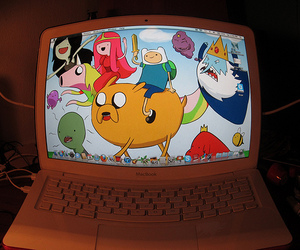adventure time, photography, and mac image