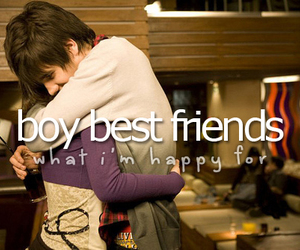 boy, best friends, and hug image