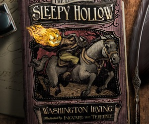 book and sleepy hollow image