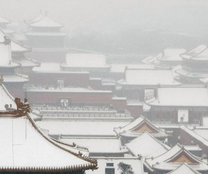 beijing, china, and Forbidden city image