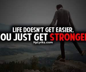 life, quote, and strong image