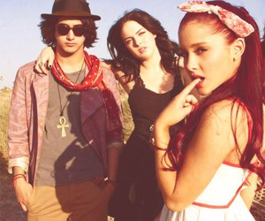 ariana grande, avan jogia, and victorious image