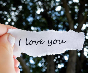 I Love You, love, and text image