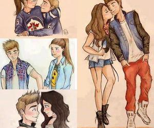 love, couple, and justin bieber image