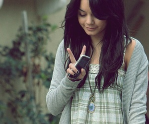 peace and vanessa hudgens image