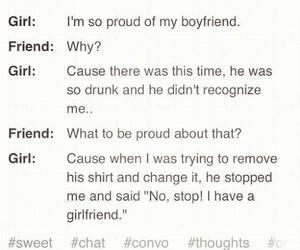 boyfriend, girlfriend, and drunk image