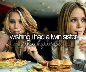 sisters, twin, and wish image