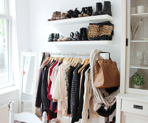 fashion, room, and shoes image