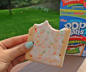food, tumblr, and poptarts image