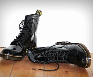 boots, dr. martens, and lack image