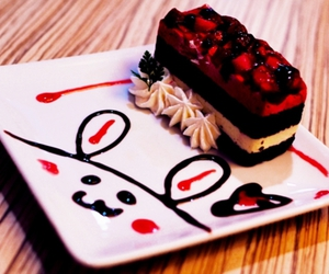 cute, food, and cake image