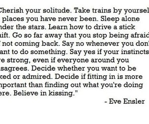 quote, eve ensler, and text image
