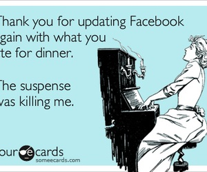 eat, facebook, and funny image
