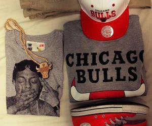 chicago bulls, converse, and lil wayne image