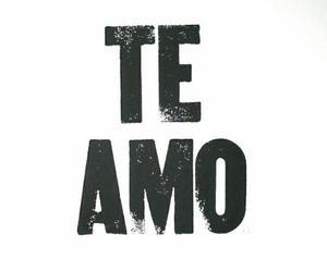 te amo and love image