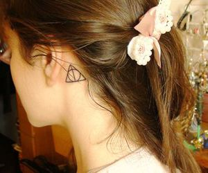 tattoo, harry potter, and cute image