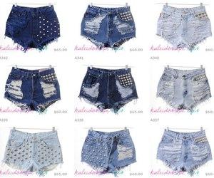 diy, shorts, and fashion image