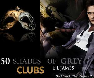 twilight, christian grey, and fic image