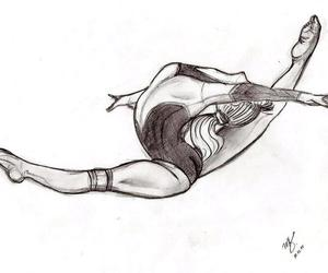 drawing and gymnastic image