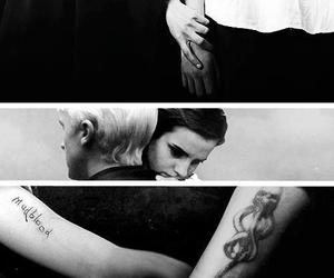 dramione, harry potter, and draco malfoy image
