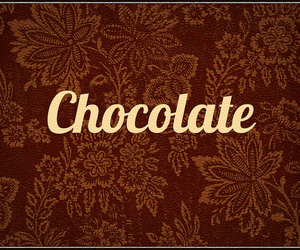 chocolate, flowers, and food image
