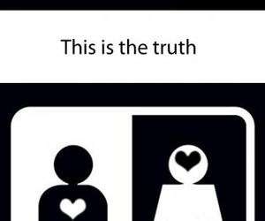 love, funny, and truth image