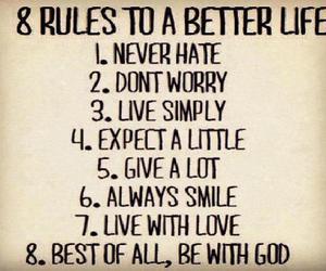 love, god, and life image