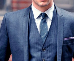 suit, tie, and male physique image