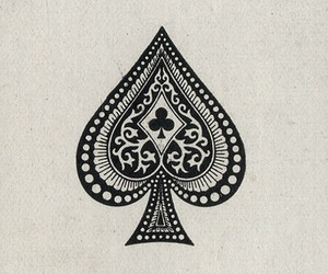 ace, card, and spade image
