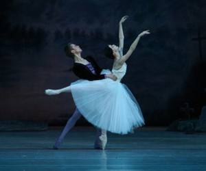 arabesque, ballet, and on stage image