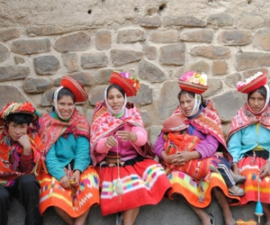 colors and peru image