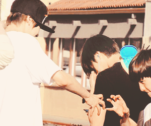 exo, baekyeol, and couple image