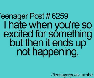 teenager post, quotes, and excited image