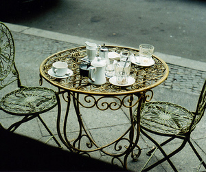 photography, table, and tea image