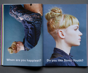grimes, sonic youth, and claire boucher image