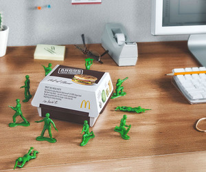 army men, Defend, and food image
