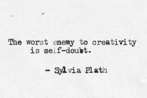 quotes, creativity, and sylvia plath image