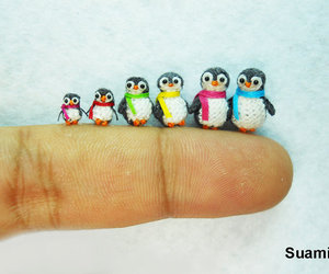 penguin, cute, and family image