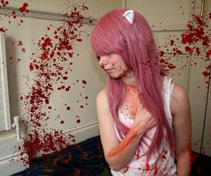 anime, cosplay, and elfen lied image